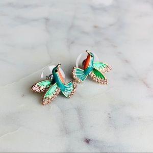 Kate Spade Hummingbird earrings